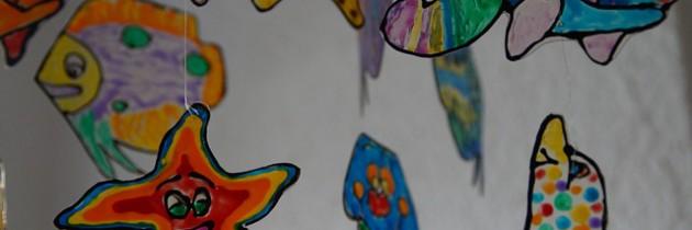 Kindervorhänge – bunt und farbenfroh