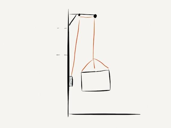 kaminholz per seilwinde ins obergeschoss transportieren skizze m bel blog. Black Bedroom Furniture Sets. Home Design Ideas