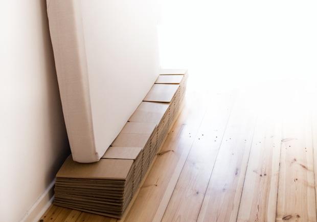 Ein Bett Aus Wellpappe Das Ist Das Room In A Box Bett Möbel Blog