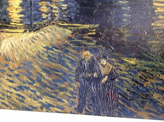 van Gogh Sternennacht Leinwandbild Personen