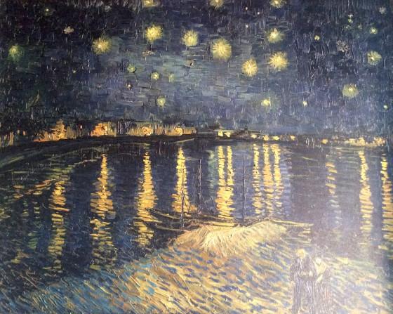 van Gogh Sternennacht Leinwandbild
