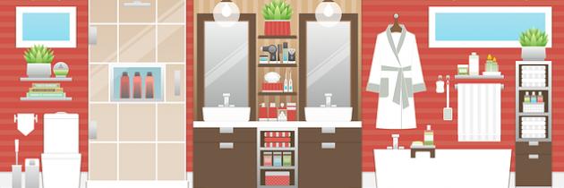Fünf Tipps: Kleine Badezimmer optisch vergrößern