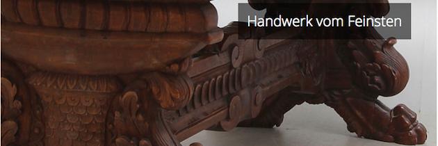 Edle Möbel online ersteigern