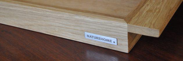 Getestet: Das Holztablett NH-E aus Eiche von Naturehome