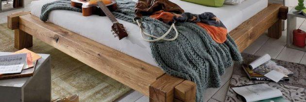 Balkenbetten – Giganten aus Holz